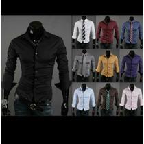 Camisas Entalladas Para Hombre .variedad De De Colores