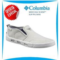 Zapato Slip Columbia De Hombre Vulc N Vent Talla 42