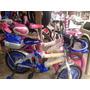 Bicicleta De Nena Y Varón Rodado 16 Nuevas En Cajas