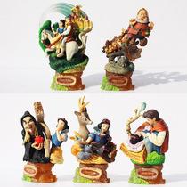 Excelente Set De Figuras De Disney Blanca Nieves Escenarios
