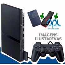 Playstation 2 Slim Exclusivo Para Jogar Com Pendrive 16gb