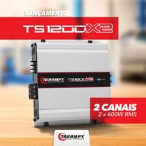 Modulo Amplificador Ts1200 X2 2 Canais 1200w Rms Taramps