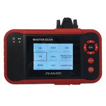 Planatc Master-scan Scanner Análise Código Falhas Veicular