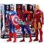Avengers X3 Muñecos Gigantes 30cm Hasbro Spiderman Ironman
