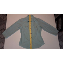 Camisa Mujer Columbia Talle S Color Agua