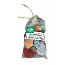 Saco 500g Pedras Semipreciosas Brasileiras Naturais Brutas