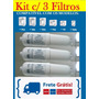 Kit C/ 3 Filtros Purificador Soft By Everest Baby Slin Fit