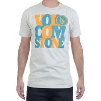 Camiseta Masculina Volcom Silk Overlap