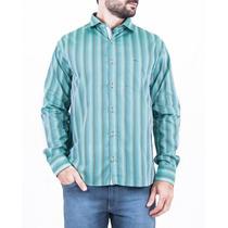 Camisa Social Slim Fio 60 Egípcio Com Bolso - Jcanedo