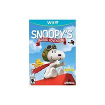 Snoopys Gran Aventura - Nintendo Wii U