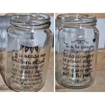 50 Frascos Vaso Personalizado! Frases, Imagen, Souvenir!!