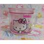 Coqueta Tacita Con Gel De Hello Kitty