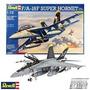 F/a18súper Hornet Caza Avion Armar Revell 4864 Maqueta 1/72