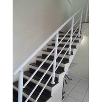Corrimão Para Escada De Alumínio Completo Metro Instalado