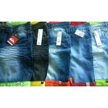 Kit C/ 5 Bermuda Jeans Masculina Varias Marcas Atacado