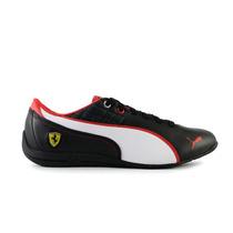 Tenis Puma Drift Cat 6 Ferrari - Negro Con Blanco 305540-01