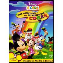 Dvd A Casa Do Mickey Mouse Da Disney - Uma Aventura No Mundo