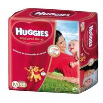 Pañales Natural Care Huggies ( M Y G ) 2 Hiperpack Envíos
