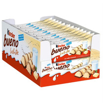 Chocolate Kinder Bueno White C/30 - Ferrero