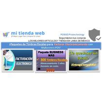 Timbres Fiscales Paq.de 300 Para Factura Electronica,pos