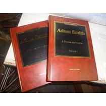 Adam Smith A Riqueza Das Nações 2 Volumes Capa Dura Completo