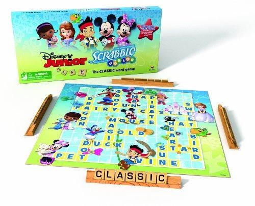 Juego De Disney Junior Tablero De Scrabble Azul 91 699 En