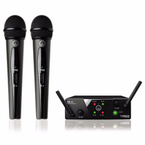 Akg Wms-40 Mini Dual Vocal. Microfono Inalambrico Doble