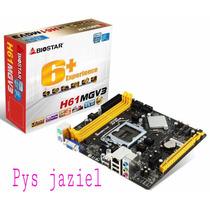 Tarjeta Madre Biostar H61mgv Socket 1155 Intel Core I3/i6/i7