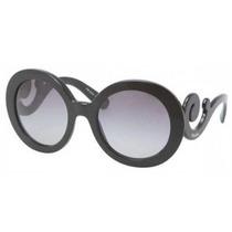 Gafas Prada Pr27ns Sunglasses Marco Negro / Gris Gradiente