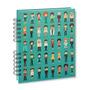 Libreta Cuaderno 200 Pag / Hojas Blancas / Mod.: Personas