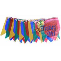 Bandeirinha Junina Plástica - 40 Pacotes Com 10 Metros Cada