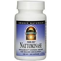 Fuente Naturals Nattokinase 100mg 60 Cápsulas