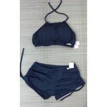 Conjunto Biquíni/bikíni Top Cropped E Sunkini - Plus Size
