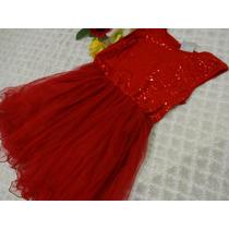 Vestido C/lantejoulas - Sua Princesa Merece Esse Luxo!!!