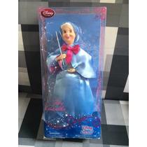 Boneca Fada Madrinha Cinderela Disney