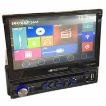 Pantalla Soundstream 1 Din Motorizada Bluetooth Touch Scree