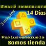 Playstation Plus 14 Dias En Físico