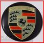 Emblema Adesivo Calota Miolo Tampa Roda Porsche 69mm - 1 Pç