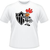 Camiseta Camisa Personalizada Atlético Mineiro Time Futebol