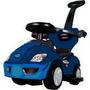 Carro Montable Paseador Con Posapies Niños Sonidos Azul