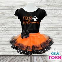 Tutus Para Halloween Conjunto Falda Tutu Y Blusa Talla 8