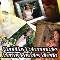 Fondos, Marcos, Templates Y Plantillas Para Fotomontajes