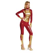 Disfraz Marvel Iron Man 3 Marcos 42 Lycra Descarado Mujeres