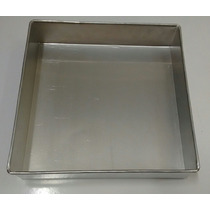 Forma Quadrada P/bolo (aluminio) 15 X 10