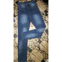 Jeans Chupin Al Tobillo Tucci