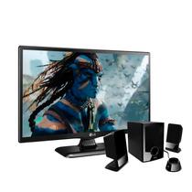 Pantalla Tv Lg Led 720p 24 60hz 24lf452b Hdmi Bocinas Pixxo
