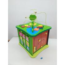 Juguete Cubo Didáctico 5 Actividades Prono Encastre Y Mas