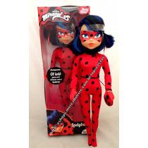 Boneca Grande Miraculous Ladybug C/ Ioiô Original Baby Brink