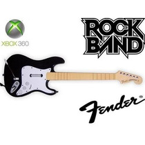 Guitarra Fender Xbox 360 Pc Rock Band Guitar Hero Original