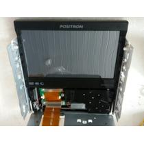 Tela E Mecanismo Dvd Positron Sp6110av!defeito Cabo Flat
